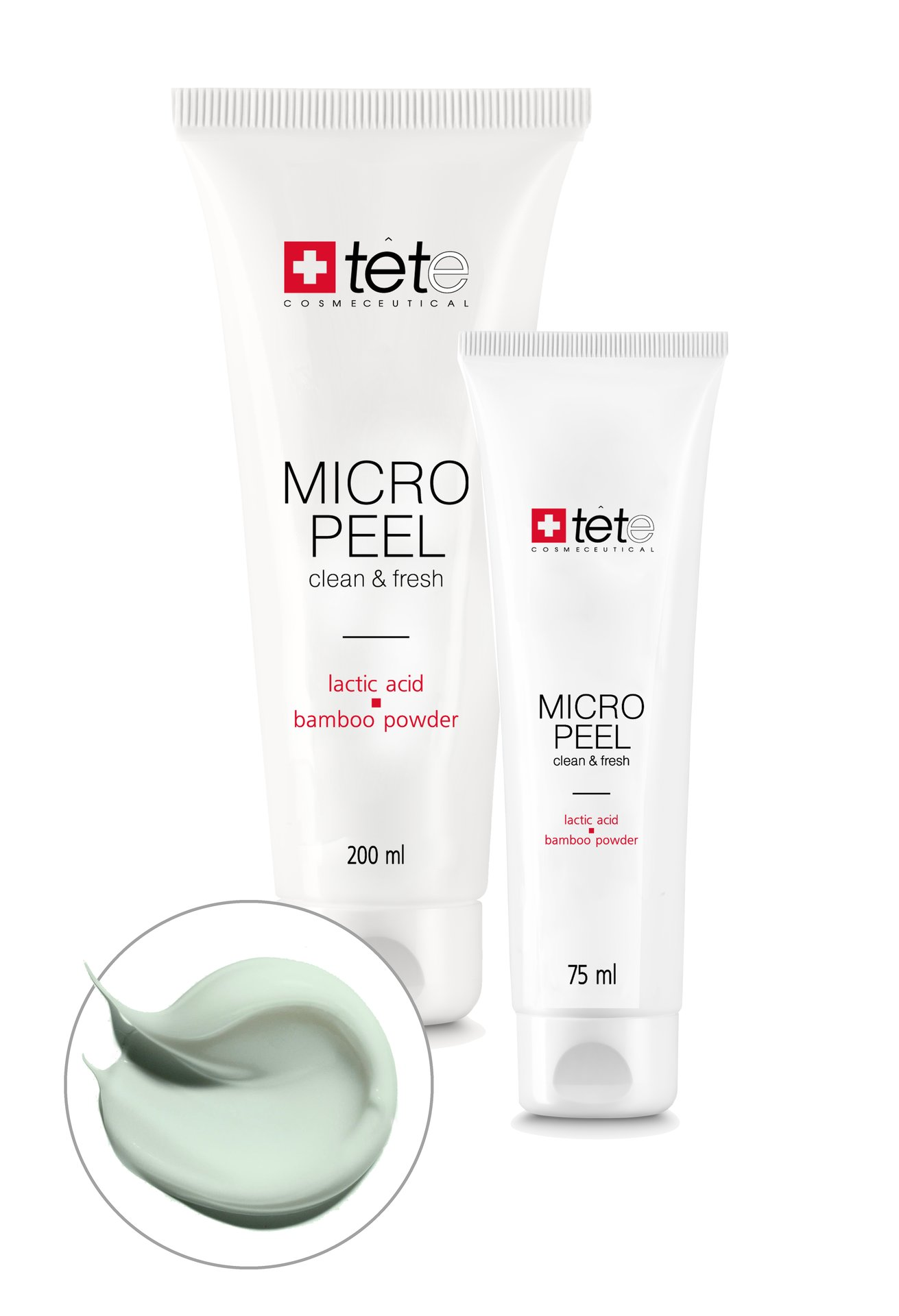 Micro Peel Мягкий эксфолиант с молочной/гликолевой кислотами и бамбуковой пудрой
